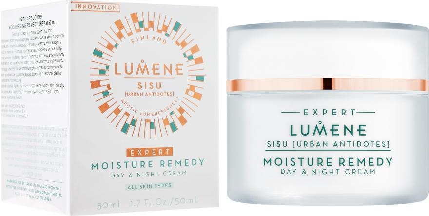Detoksykujący krem na dzień i na noc - Lumene Sisu [Urban Antidotes] Moisture Remedy Day & Night Cream — фото N1
