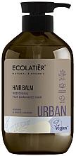 Kup Odbudowujący balsam do włosów zniszczonych Argan i biały jaśmin - Ecolatier Urban Hair Balm