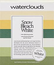 Kup PRZECENA! Rozjaśniający puder do włosów - Waterclouds Snow Bleach White *