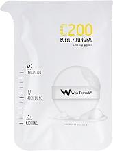 Kup Płatki peelingujące do twarzy z witaminą C - Wish Formula C200 Bubble Peeling Pad