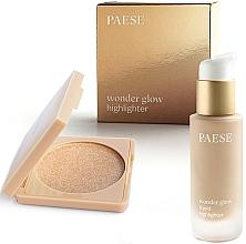 Kup Zestaw - Paese Wonder Glow Highlighter (highlighter/7,5g+highlighter/20ml)