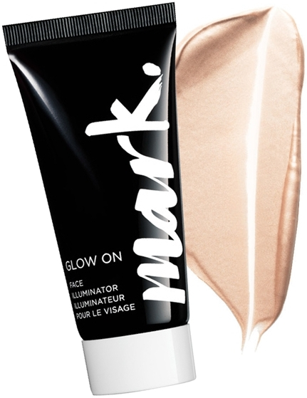 Rozświetlacz do twarzy - Avon Mark Glow On Face Illuminator — фото N2