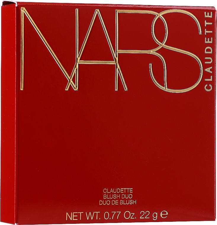 Paletka róży do policzków - Nars Claudette Blush Duo — фото N1