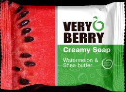 Kup Kremowe mydło w kostce Arbuz i masło shea - Very Berry Watermelon & Shea Butter Creamy Soap