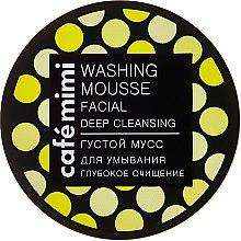 Kup Gęsty mus do mycia twarzy Głębokie oczyszczenie - Café Mimi Washing Mousse Facial Deep Cleaning