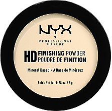 Kup Puder utrwalający - NYX Professional Makeup High Definition Finishing Powder