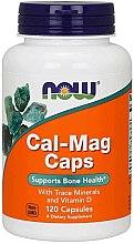 Kup Wapń i magnez + mikroelementy na zdrowe kości - Now Foods Cal-Mag Caps