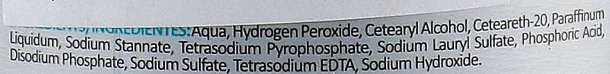 Emulsja utleniająca do włosów 12% - Kosswell Professional Oxidizing Emulsion Oxiwell 12% 40 vol — фото N4
