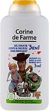 Kup PRZECENA! Żel pod prysznic 3 w 1 do mycia ciała i włosów dla dzieci - Corine De Farme Toy Story 4 Shower Gel *