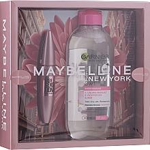 Kup Zestaw - Maybelline New York (mascara 9,5 ml + micell/wat 400 ml)