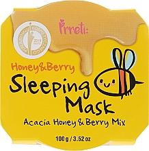 Kup Odżywcza maska z miodem akacjowym i owocami leśnymi na noc - Prreti Honey & Berry Sleeping Mask
