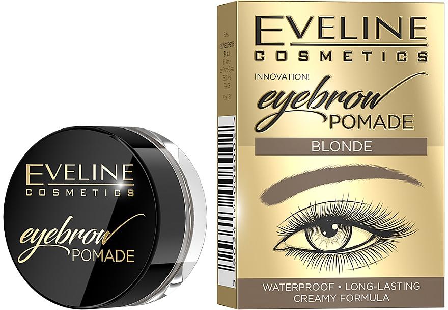 Wodoodporna pomada do brwi - Eveline Cosmetics Eyebrow Pomade