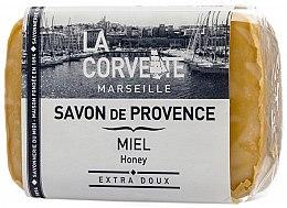 Kup Mydło w kostce Miód - La Corvette Provence Soap Honey