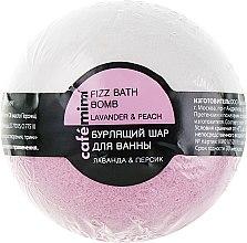 Kup Musująca kula do kąpieli Lawenda i brzoskwinia - Cafe Mimi Bubble Ball Bath