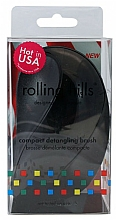 Kup Kompaktowa szczotka do włosów, czarna - Rolling Hills Compact Detangling Brush Black