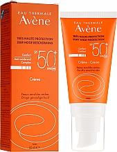 Kup Przeciwsłoneczny krem do twarzy SPF 50 - Avène Eau Thermale Sun Cream