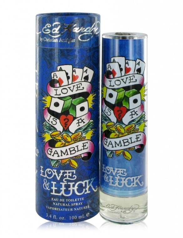 Christian Audigier Ed Hardy Love & Luck For Men - Woda toaletowa — фото N1