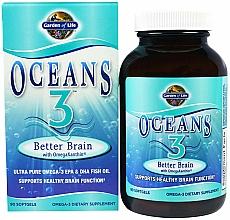 Kup Suplement diety wspierające aktywność mózgu, kapsułki - Garden of Life Oceans 3