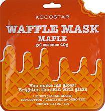 Kup Rozjaśniająca maska na tkaninie Syrop klonowy - Kocostar Maple Waffle Mask
