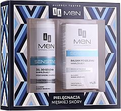 Kup Zestaw - AA Men Sensitive (sh/gel 200 ml + ash/lot 100 ml)
