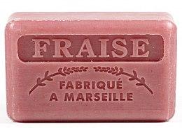 Kup Marsylskie mydło w kostce Truskawka - Foufour Savonnette Marseillaise Fraise