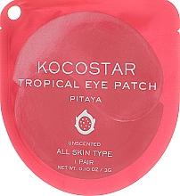Kup Hydrożelowe płatki pod oczy - Kocostar Tropical Eye Patch Pitaya