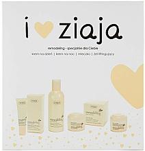 Kup Zestaw - Ziaja I Love Ziaja Remodeling (f/lot/200ml + f/gel/30ml + d/cr/50ml + n/cr/50ml)
