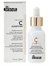 Kup Rozświetlające serum do twarzy - Dr. Brandt Bright This Way C Scription Brightening Serum