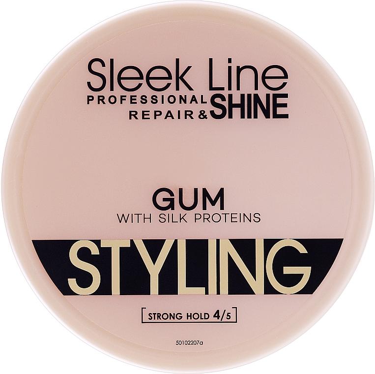 Guma z jedwabiem do stylizacji włosów - Stapiz Sleek Line Styling Gum With Silk — фото N1
