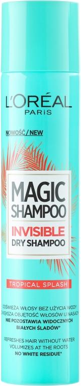 Suchy szampon do włosów - L'Oreal Paris Magic Shampoo Tropical Splash