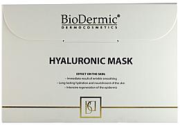 Kup Hialuronowa maska na tkaninie do twarzy - Biodermic Hyaluronic Mask
