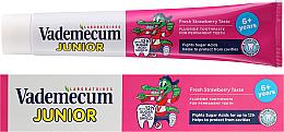 Kup PRZECENA! Truskawkowa pasta do zębów dla dzieci 6+ - Vademecum Junior Strawberry *