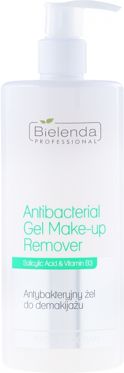 Antybakteryjny żel do demakijażu - Bielenda Professional Face Program Antibacterial Gel Make-up Remover