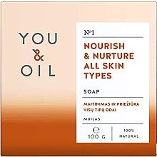 Kup Odżywcze mydło do każdego rodzaju skóry - You & Oil Nourish & Nurture All Skin Types