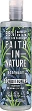 Kup Odżywka do włosów normalnych i przetłuszczających się z rozmarynem - Faith in Nature Rosemary Conditioner