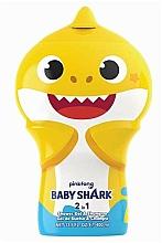 Kup Szampon i żel pod prysznic 2 w 1 dla dzieci - Air-Val International Baby Shark Shower Gel & Shampoo 2D