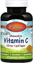 Kup Żelki z witaminą C dla dzieci o smaku mandarynki - Carlson Labs Kid's Chewable Vitamin C