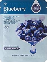 Kup Borówkowa maska nawilżająca na tkaninie - Rorec Natural Skin Blueberry Mask