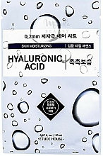 Kup Nawilżająca maseczka w płachcie do twarzy z kwasem hialuronowym - Etude House Therapy Air Mask Hyaluronic Acid