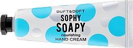 Kup Odżywczy krem do rąk Orchidea i róża - Duft & Doft Sophy Soapy Nourishing Hand Cream