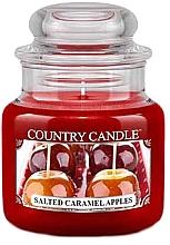 Kup Świeca zapachowa w słoiku - Country Candle Salted Caramel Apples
