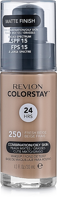 Podkład w kremie - Revlon ColorStay for Combination/Oily Skin SPF 15