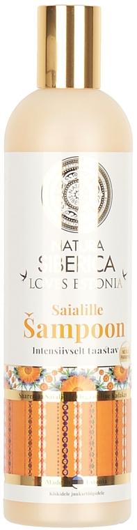 Nagietkowy szampon do włosów Intensywna regeneracja - Natura Siberica Loves Estonia Calendula Shampoo — фото N2