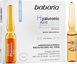 Kup Nawilżająca ampułka z kwasem hialuronowym - Babaria Hyaluronic Acid Ampoule