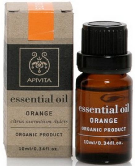 Olejek pomarańczowy - Apivita Aromatherapy Organic Orange Oil — фото N1