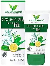 Kup Krem do twarzy na noc Detoks - Cosnature Night Cream Detox Green Tea