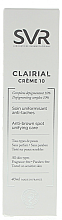 Ujednolicający krem na przebarwienia do twarzy - SVR Clairial 10 Cream — фото N2