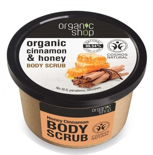 Scrub do ciała Cynamon i miód - Organic Shop Cinnamon & Honey Body Scrub
