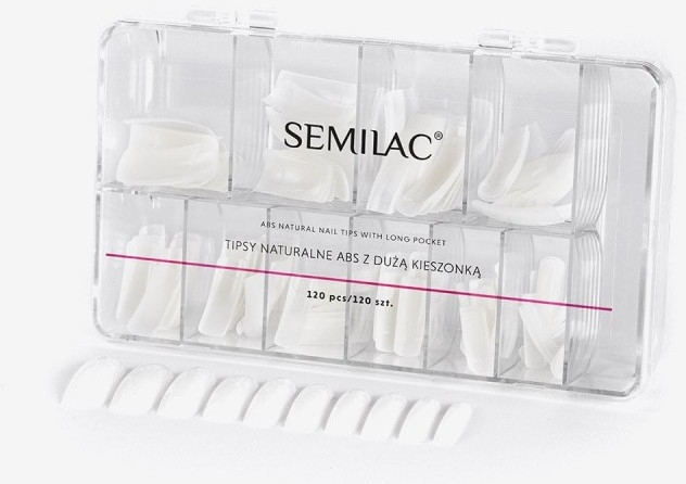 Tipsy naturalne ABS z dużą kieszonką - Semilac — фото N1