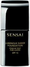 Kup Rozświetlający podkład do twarzy - Kanebo Sensai Luminous Sheer Foundation SPF 15